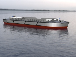TEKNICRAFT DIVERSIFIES ITS PORTFOLIO WITH THE DESIGN OF A FIRST-IN-ITS-CLASS ALUMINIUM SPLIT-HOPPER BARGE