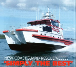 "NEW COASTGUARD RESCUE VESSEL…""SIMPLY THE BEST"""