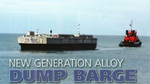 NEW GENERATION ALLOY DUMP BARGE